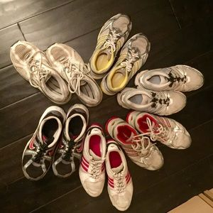 Size 7 1/2 woman's running shoes Bundle
